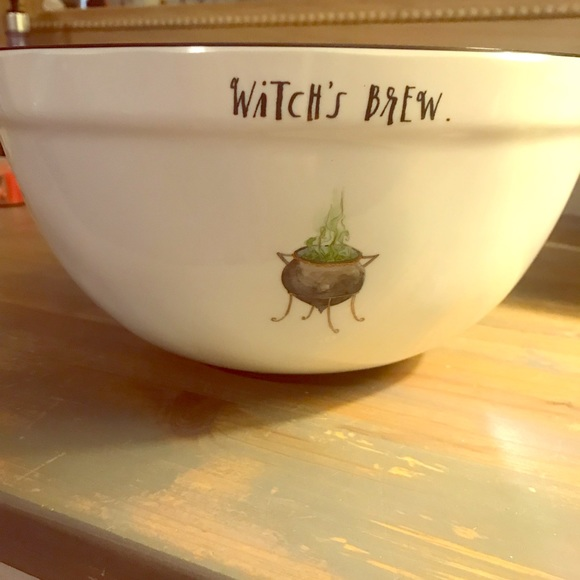 Other - Rae Dunn witch's brew large bowl rare!